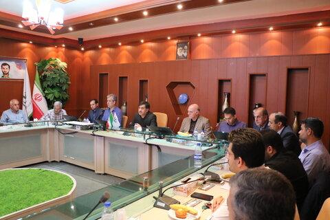 دومین جلسه دبیران هیات های آذربایجان شرقی بامدیرکل