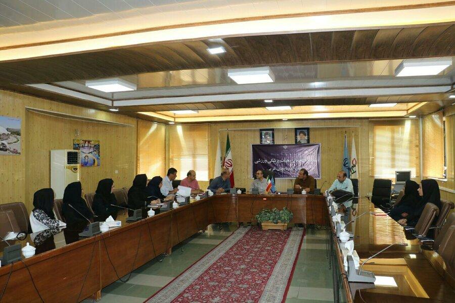 جلسه سیاست گذاری و برنامه ریزی هیات پزشکی ورزشی آذربایجان غربی برگزار شد