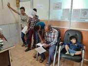 صدور کارت سلامت برای المپیادی های یزد ( شناگران)