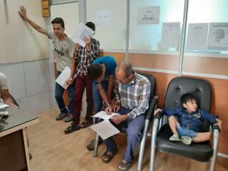صدور کارت سلامت برای المپیادی های یزد ( ورزشکاران رشته شنا)