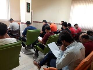 آزمون ماساژ هیات پزشکی ورزشی استان گیلان