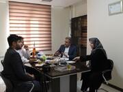 دیدار دکتر کیوان اسدپور با رئیس هیأت پزشکی قزوین