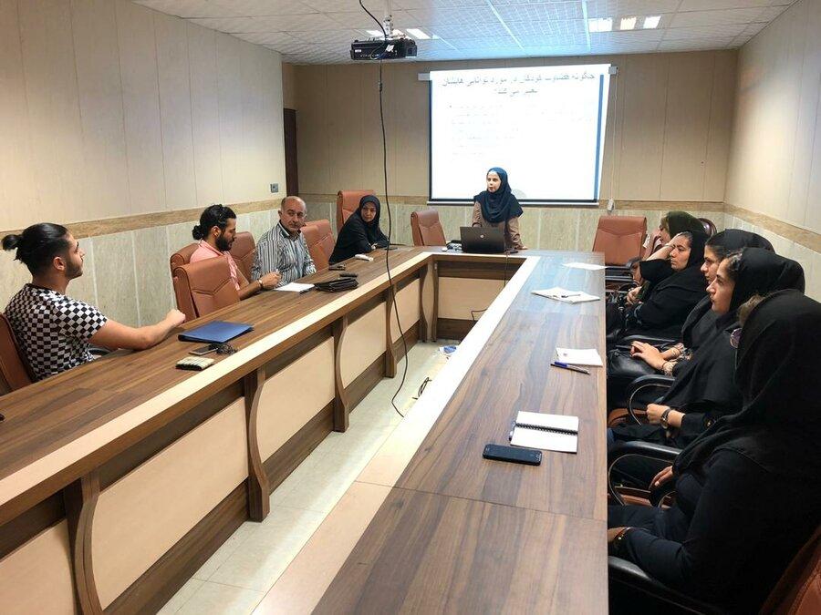 کارگاه روانشناسی ورزش ویژه مربیان سنین پایه در هیات پزشکی ورزشی استان گیلان