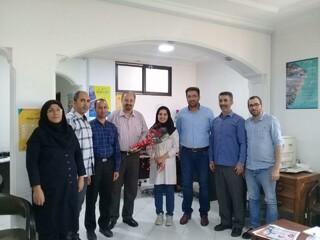 تجلیل پرسنا هیات پزشکی استان از رئیس هیات پزشکی ورزشی استان مازندران