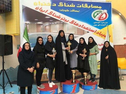 المپیاد استعدادهای برترشنای دختران درآذربایجان شرقی