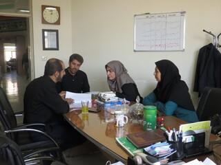 نشست بازرسین ستاد نظارت - چهار محال وبختیاری