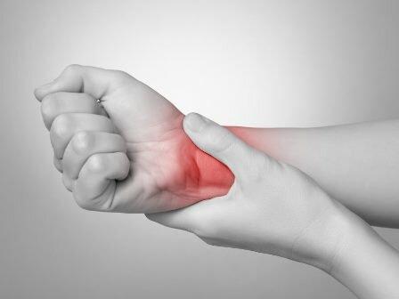 مچ دست درد