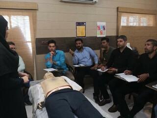 برگزاری دوره امدادگری پزشکی  در استان خوزستان