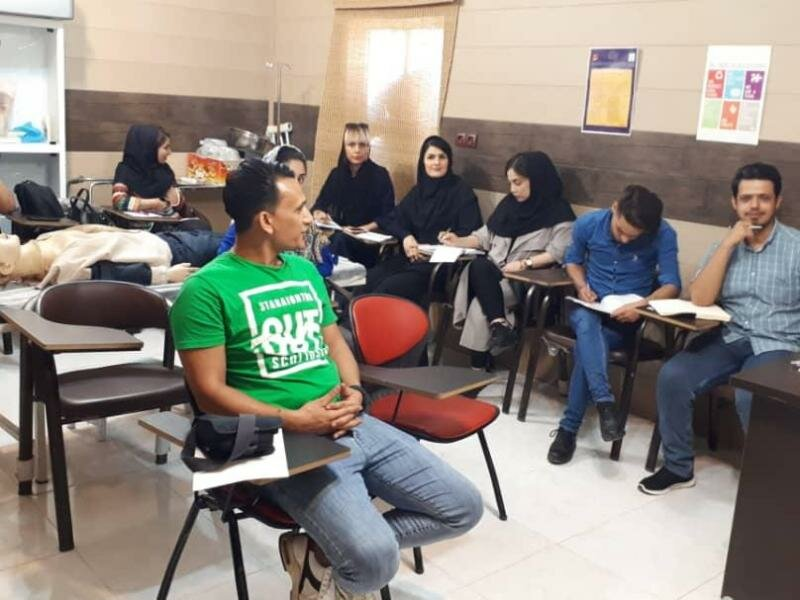 دوره امدادگری پزشکی در خوزستان