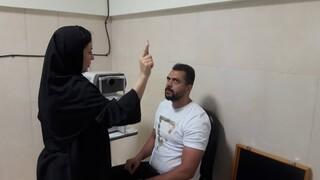 معاینات ملی پوشان در ستاد پزشکی ورزشی آزادی