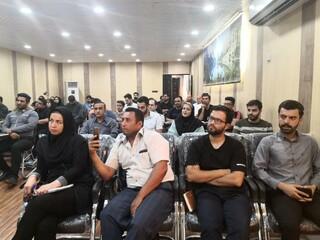 برگزاری دوره امدادگری تیم در استان خوزستان