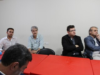 جلسه تأسیس مرکز بازتوانی