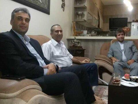 عیادت مدیرکل ورزش و جوانان از دکتر جمالیزاده