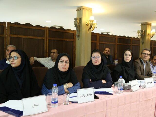 کسب امتیاز کامل رسیدگی به اسناد پزشکی کمیته خدمات درمان استان خراسان رضوی