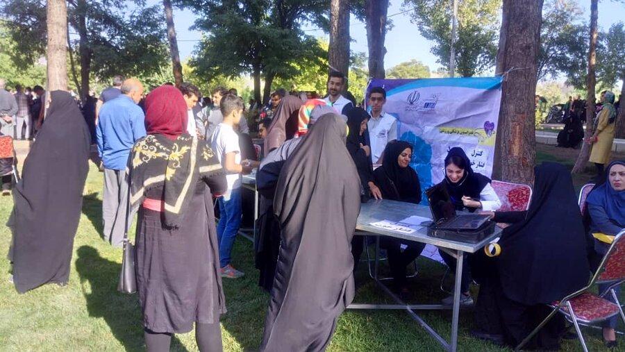 برپایی پایگاه سنجش سلامت به مناسبت هفته نیروی انتظامی