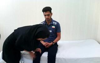 ارائه خدمات به ملی پوشان در ستاد پزشکی ورزشی آزادی