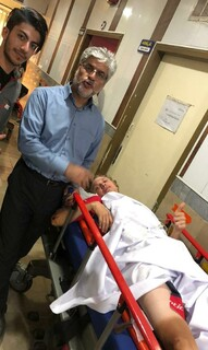 دو ورزشکارمصدوم درتوربین المللی ایران - آذربایجان تحت عمل جراحی قرارگرفتند¬