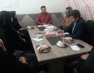 نشست ناظرین ستاد نظارت - چهار محال وبختیاری