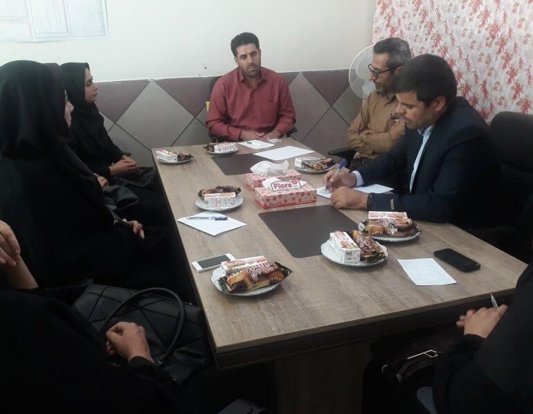 نشست ناظرین ستاد نظارت بر سلامت باشگاهای استان