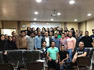 کارگاه آموزشی ماساژ ورزشی استا ن خوزستان