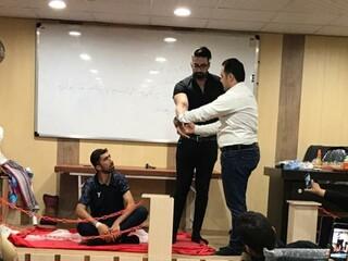 کارگاه آموزشی ماساژ ورزشی درخوزستان برگزار شد