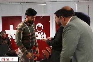 نشست خبری ریاست هیات پزشکی ورزشی فارس