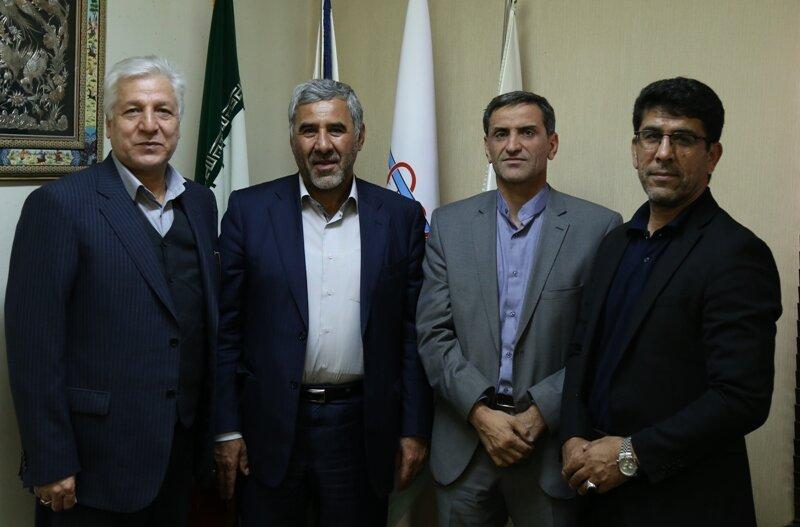 دیدار دکتر نوروزی با دکتر غلامرضا کاتب