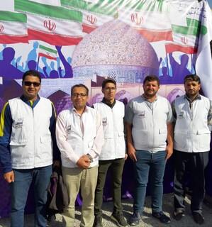 حضور هیات پزشکی ورزشی استان اصفهان در راهپیمایی ۱۳ آبان