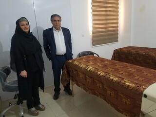 بازدید دکتر فتح الهی از مرکز ماساژ ورزشی آرمانا