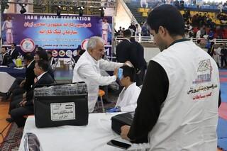 مسابقات کاراته در شیراز