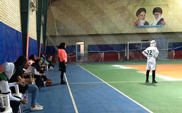 پوشش پزشکی مرحله نهایی لیگ برتر فوتسال بانوان استان هرمزگان