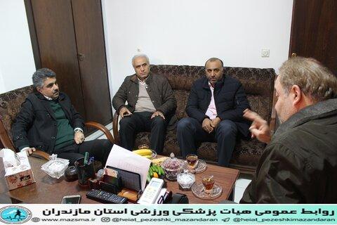 دیدار و بازدید معاون توسعه منابع و پشتیبانی اداره کل ورزش و جوانان از هیات پزشکی استان مازندران (5).JPG