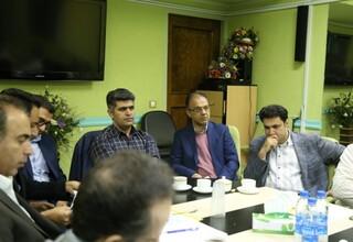 نشست شورای مدیران فدراسیون پزشکی ورزشی
