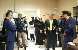 بازدید دکتر خلیلیان از ستاد پزشکی ورزشی آزادی