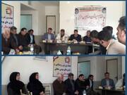 بررسی و  هماهنگی  در خصوص برگزاری  کارگاههای آموزشی در روستاهای  گرمسار