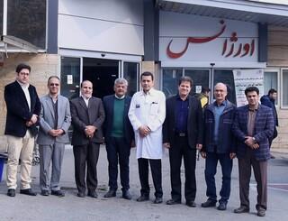 بازدید مسئولان فدراسیون پزشکی ورزشی از بیمارستان های اختر و شهید مدرس
