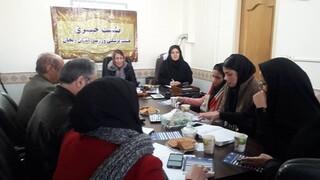 نشست خبری ریاست هیات پزشکی ورزشی استان زنجان