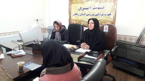 نشست خبری ریاست هیات زنجان
