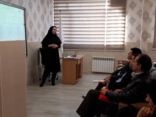 کارگاه آموزشی ویژه مسئولان کمیته خدمات درمانی و خزانه داران استان