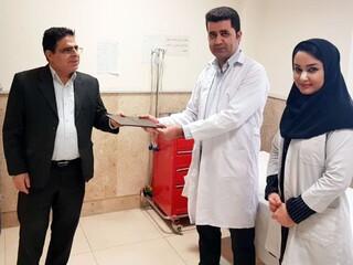 تجلیل از پرستاران درمان 12 فروردین