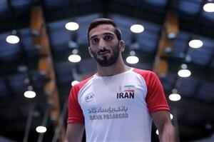 ملیپوش کشتی آزاد ایران امروز از بیمارستان مرخص شد