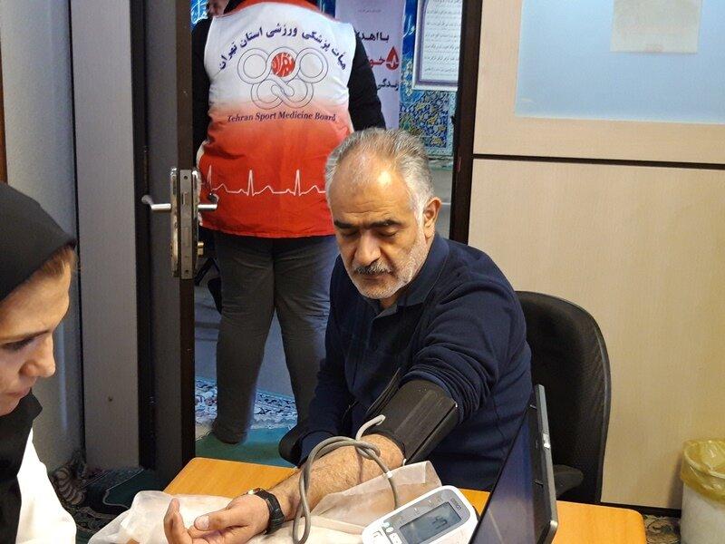 حضور فعال هیأت پزشکی ورزشی دربرنامه اهدای خون