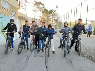 همایش دوچرخه سواری به میزبانی هیات پزشکی ورزشی یزد