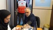 برپایی ایستگاه اهدای خون با حضور مدیر و کارکنان ورزش و جوانان استان