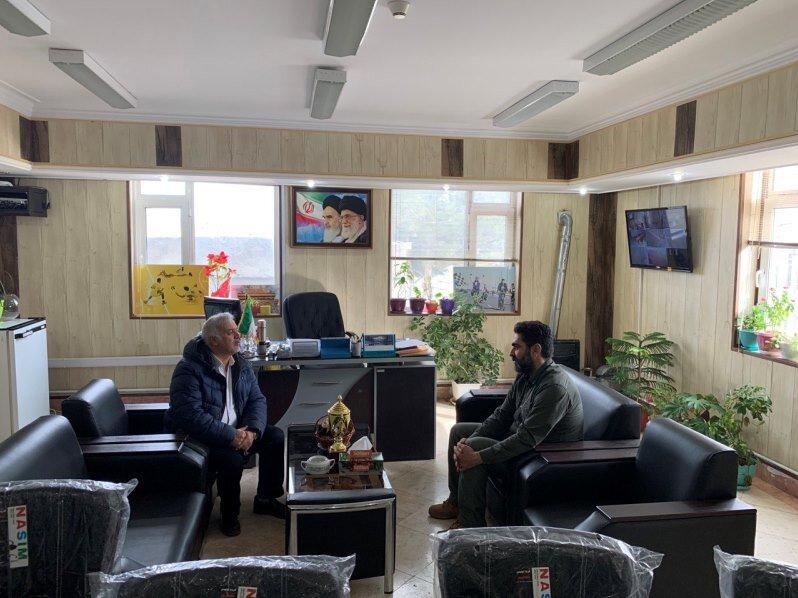 دکتر عزیزی با سرپرست اداره ورزش و جوانان شهرستان اراک دیدار کرد