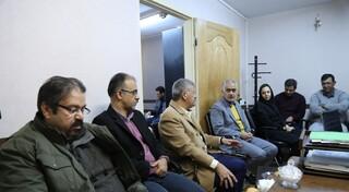 بازدید از هیات پزشکی ورزشی استان تهران