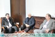 /بازدید مدیر کل اداره ورزش و جوانان استان از هیات پزشکی ورزشی مازندران