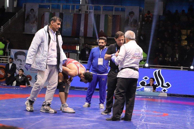 پوشش پزشکی مسابقات بین المللی کشتی فرنگی در شیراز