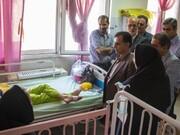 بازدید دکتر گلدوزیان از بیمارستان دکتر شیخ مشهد