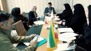 جلسه ستادنظارت براماکن ورزشی ارگانها زنجان